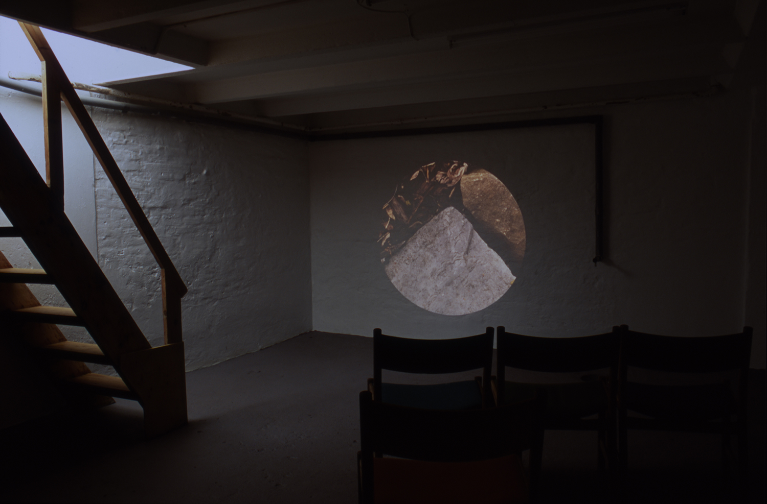 Mountain/Mirror-Window. Installation view.