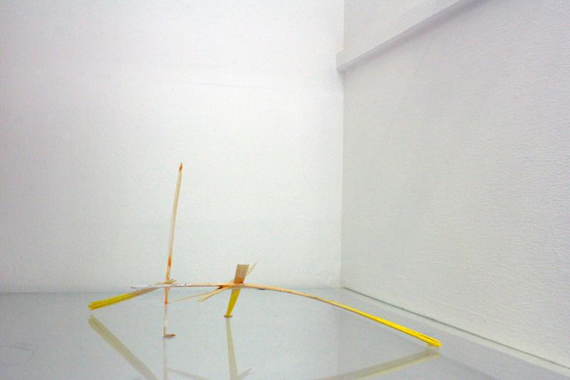 Uden Titel, 2013. Træ, lim, acrylmaling. 20 x 10 x 15 cm