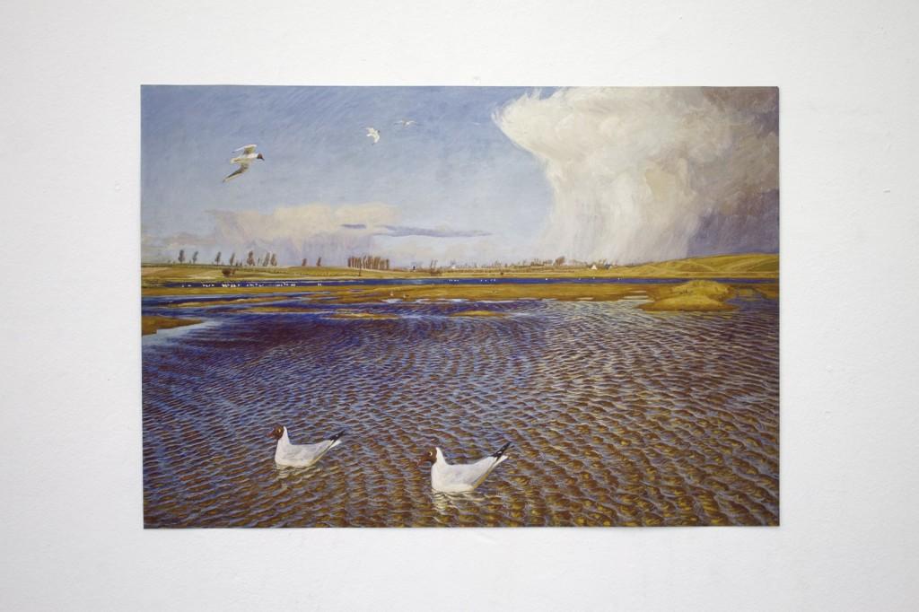 10_April_Johannes Larsen_Bygevejr i April [Rainy weather in April]_1901-1907